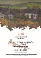 Jubilanti 2020 Juraj Daňo