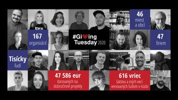 Darovací utorok 2020